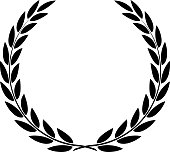 Laurel Wreath Vector Isolated
