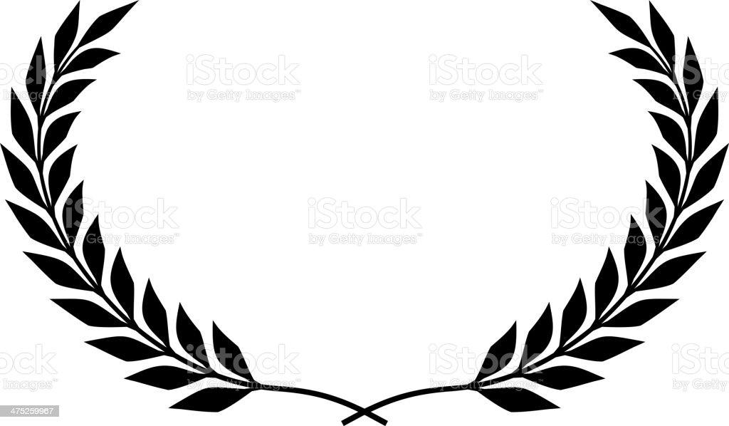 laurel wreath vector isolated stock vector art more images of rh istockphoto com laurel wreath vector brush photoshop laurel wreath vector free
