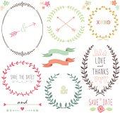 Laurel Wreath Wedding- illustration