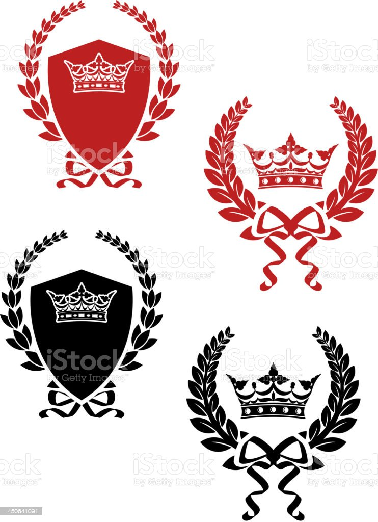 Laurel wreathes with swords and sabers royalty-free laurel wreathes with swords and sabers stock vector art & more images of achievement