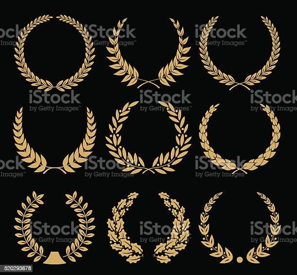 Laurel wreaths set illustration vector id520293678?b=1&k=6&m=520293678&s=612x612&h=bd652ur j2na86hwbjpfrylvl0gjuagx8mhnaknwhne=