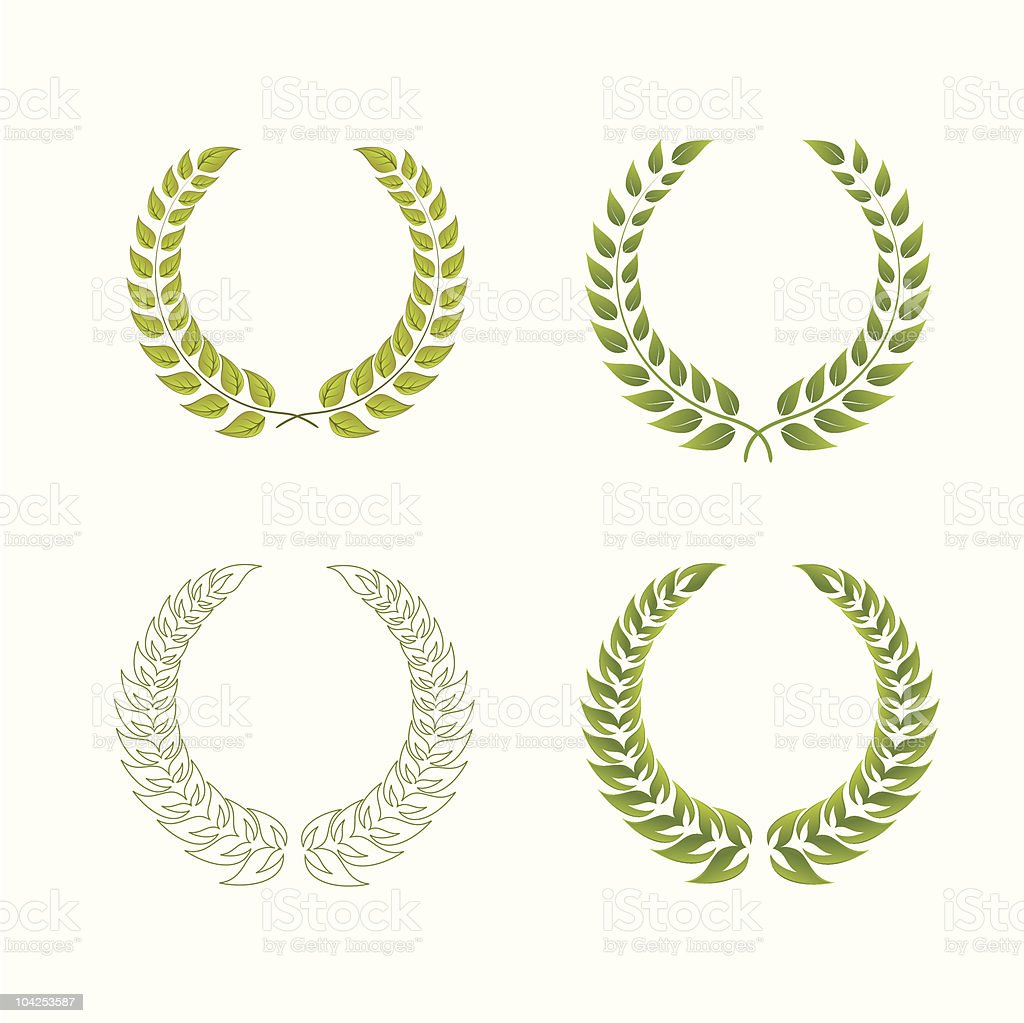 laurel wreaths royalty-free laurel wreaths stock vector art & more images of award