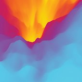 Lava. Abstract background. Modern pattern.
