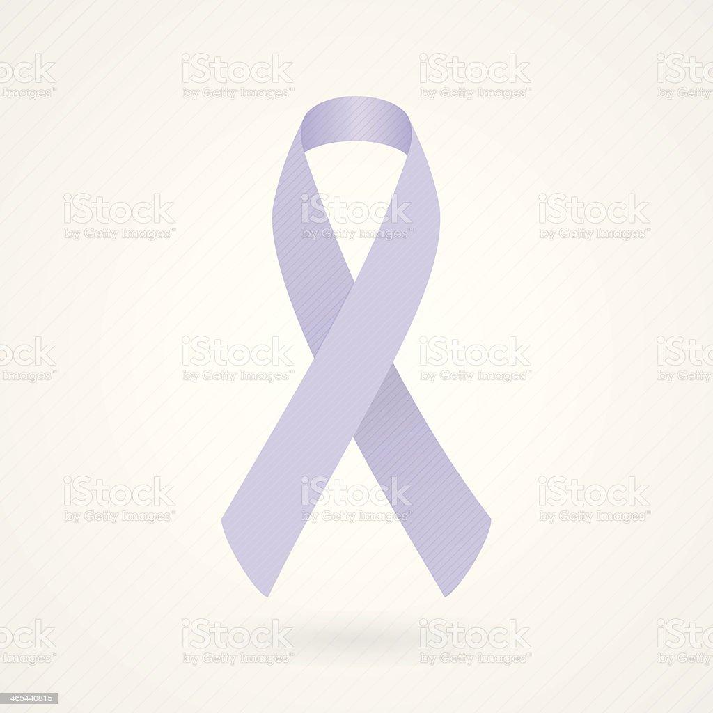 Lavender awareness ribbon royalty-free lavender awareness ribbon stock vector art & more images of alertness