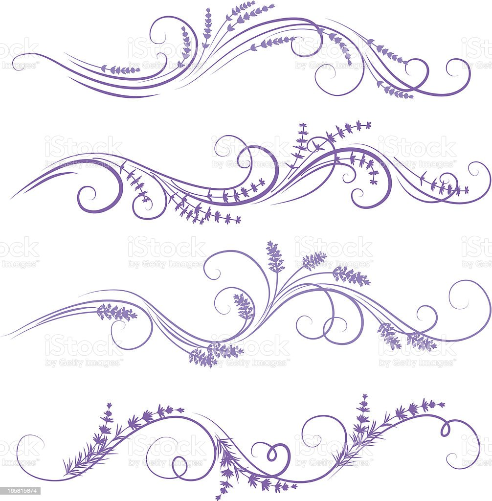 lavender ornament royalty-free lavender ornament stock vector art & more images of aromatherapy
