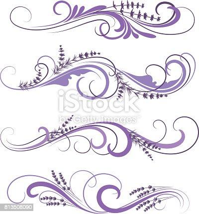 istock lavender ornaments 813508090
