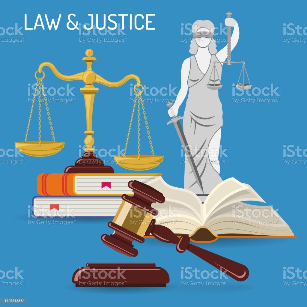 hukuk ve adalet kavrami stok vektor sanati adalet nin daha fazla gorseli istock