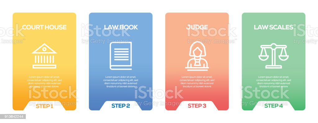 law and justice infographic design template stock vector art more