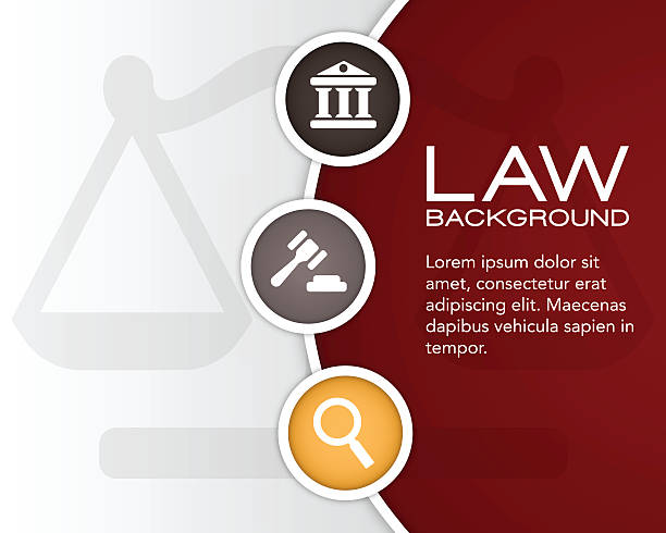 Law Background Law background with space for your copy. EPS 10 file. Transparency effects used on highlight elements. supreme court stock illustrations