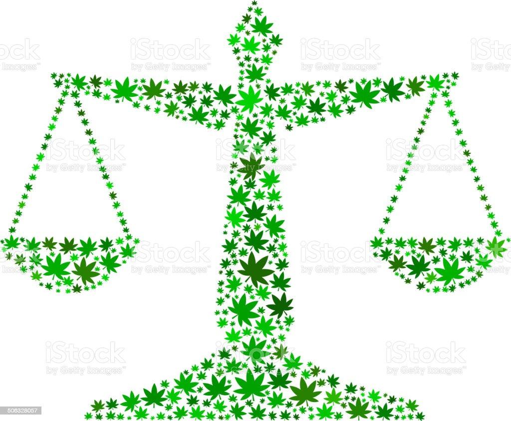 Law balance on weed royalty free vector art pattern stock vector art law balance on weed royalty free vector art pattern royalty free law balance on weed biocorpaavc Choice Image