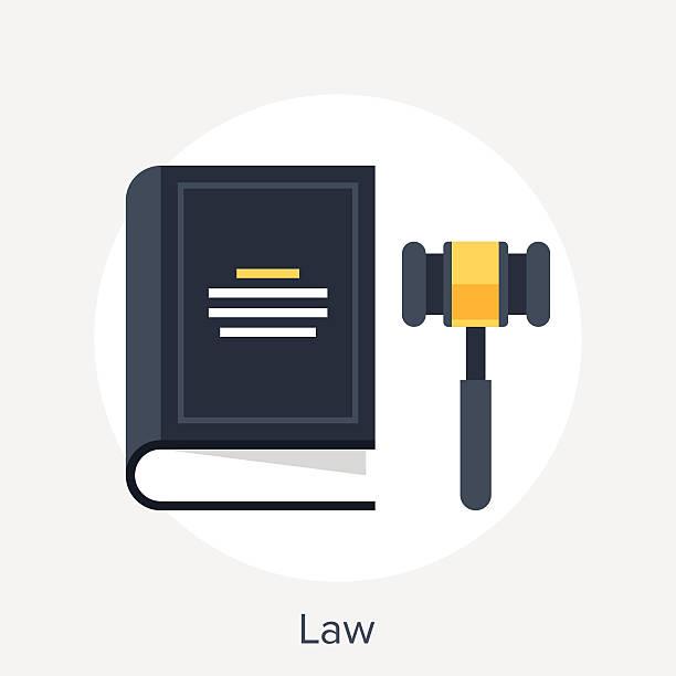 Law-Konzept – Vektorgrafik