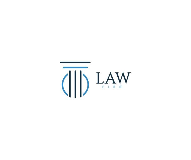 law icon - lawyer stock illustrations, clip art, cartoons, & icons