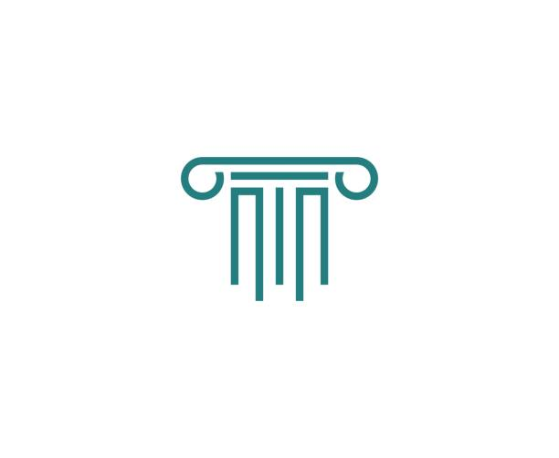 Law icon This illustration/vector you can use for any purpose related to your business. stability stock illustrations