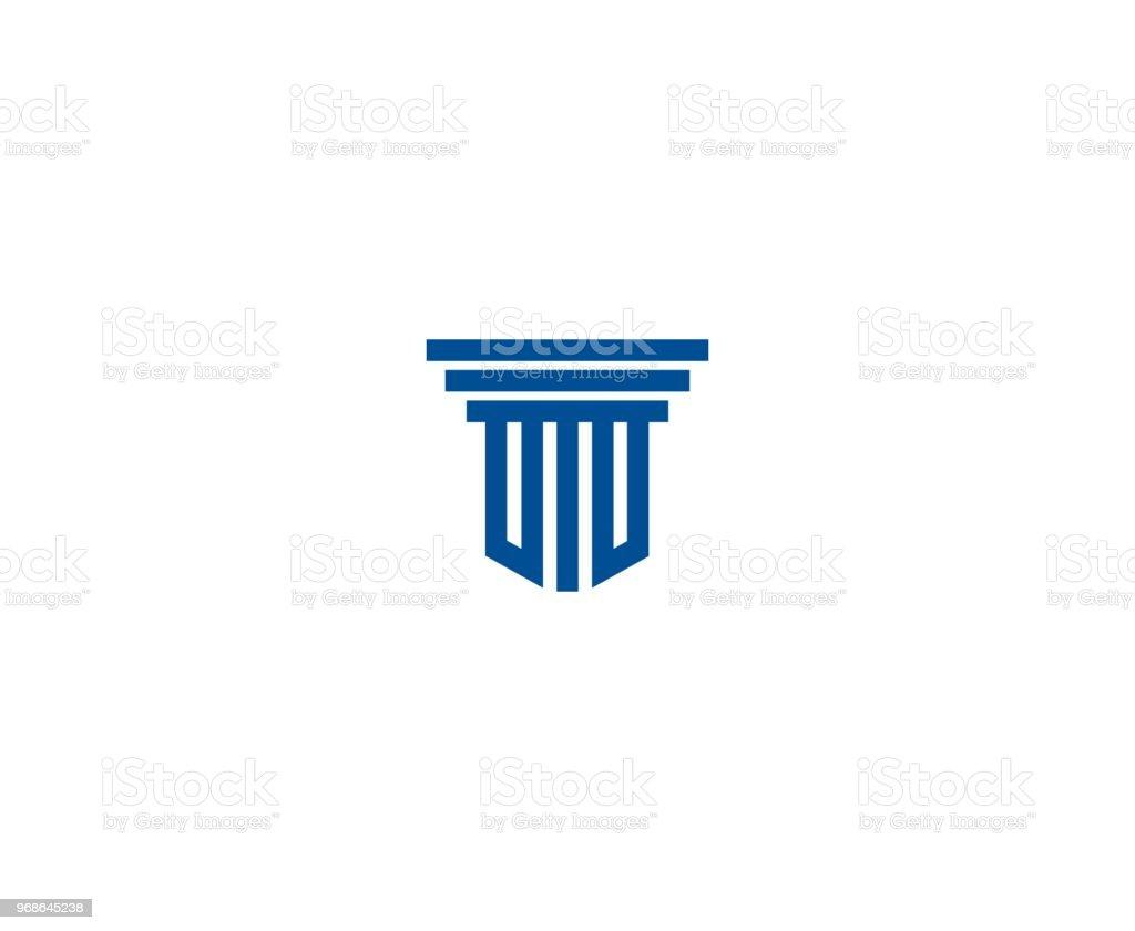 Icono de ley - ilustración de arte vectorial