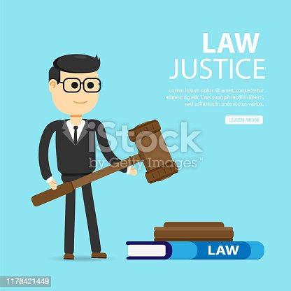 Law, lawyer, business. justice and law concept.