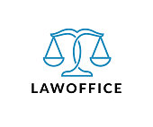 law office vector icon