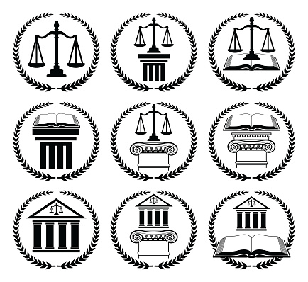 Law or Lawyer Seal Set