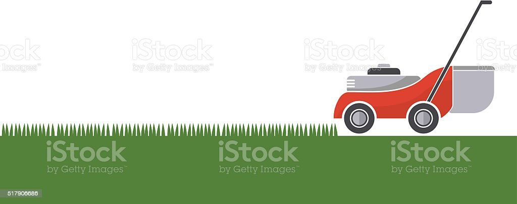 royalty free lawn mower clip art vector images illustrations istock rh istockphoto com lawn mower clipart black and white lawn mower clipart images