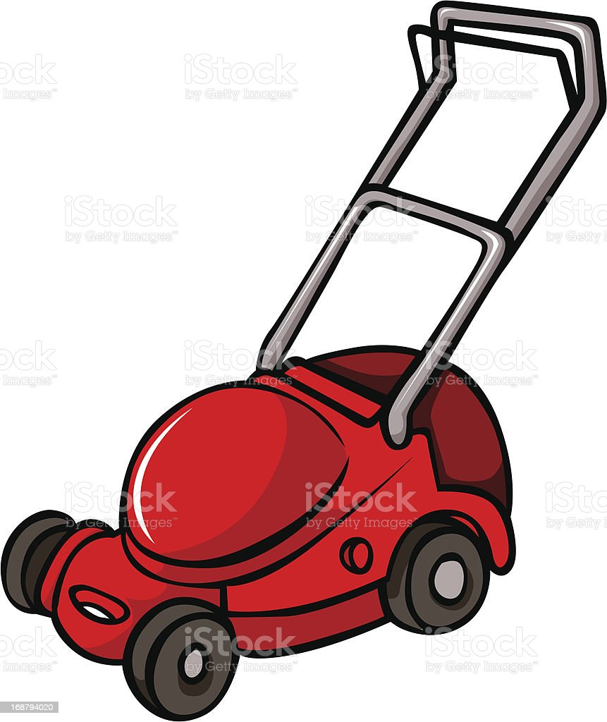 Best Lawn Mower Cartoon Illustrations  Royalty