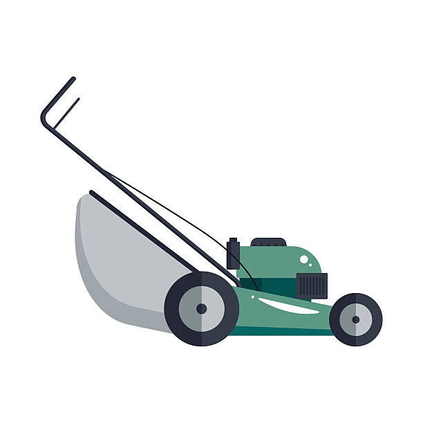 royalty free lawn mowing clip art vector images illustrations istock