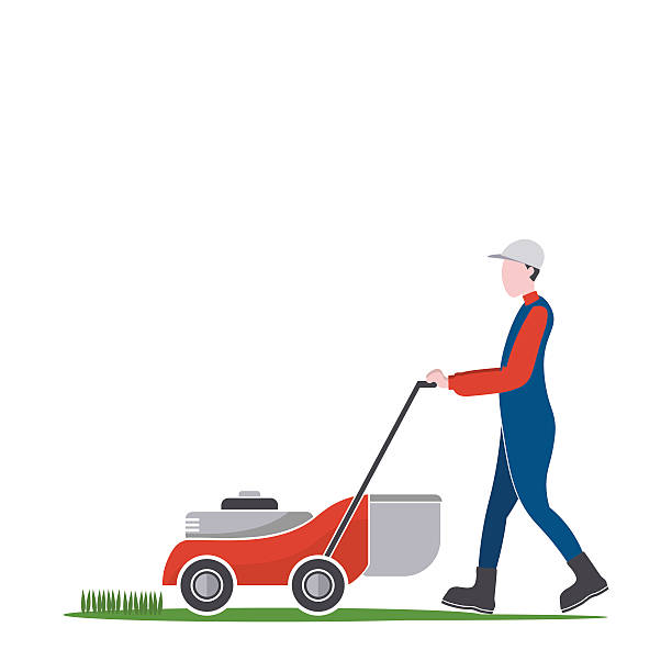 lawn mower vector - photo #6