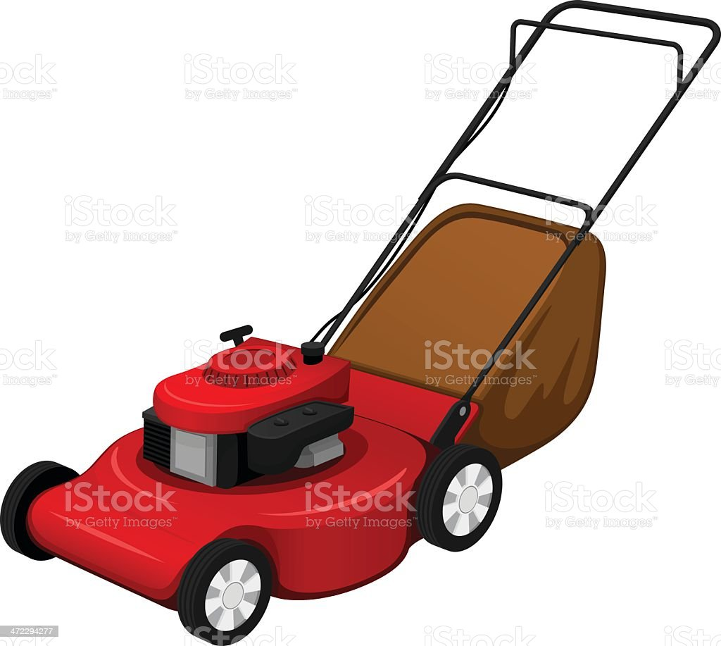 royalty free lawn mower clip art vector images illustrations istock rh istockphoto com clipart lawn mower lawn mower clip art icon free