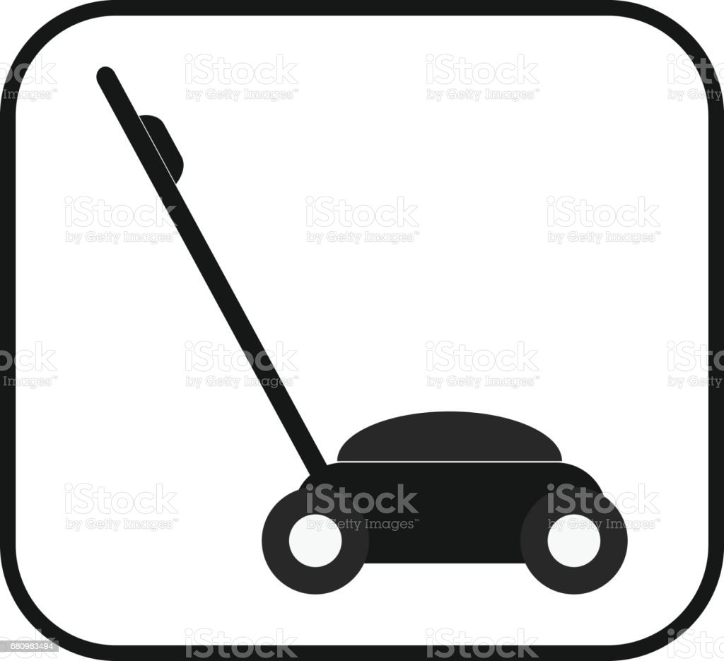 Lawnmower icon royalty-free lawnmower icon stock vector art & more images of agricultural activity