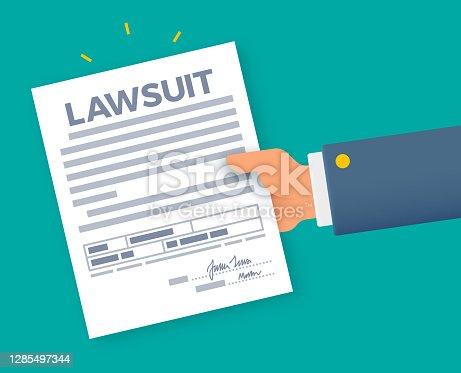 istock Lawsuit Court Documents 1285497344