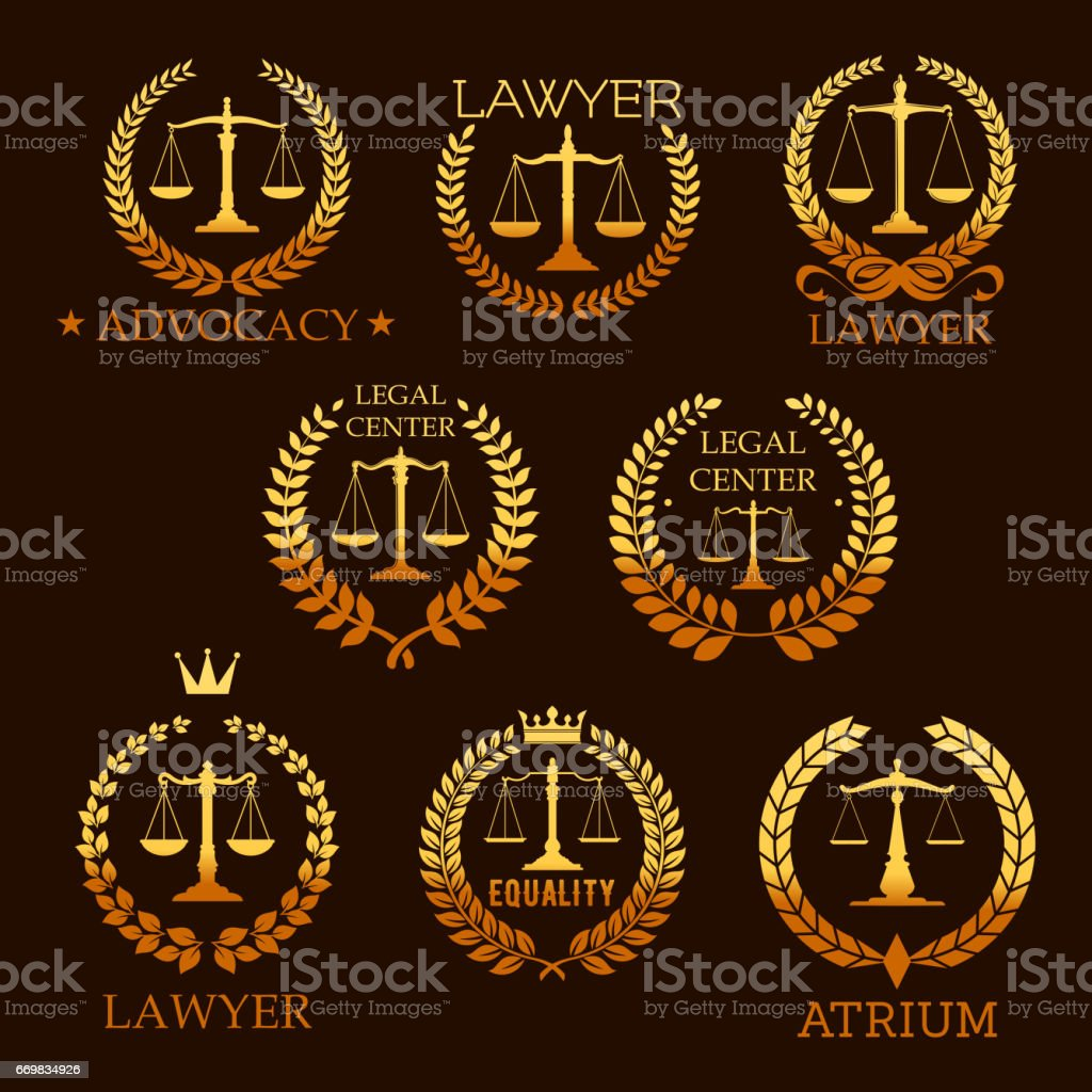 https www istockphoto com tr vekt c3 b6r avukat alt c4 b1n amblem adalet terazisi ayarla gm669834926 122514705