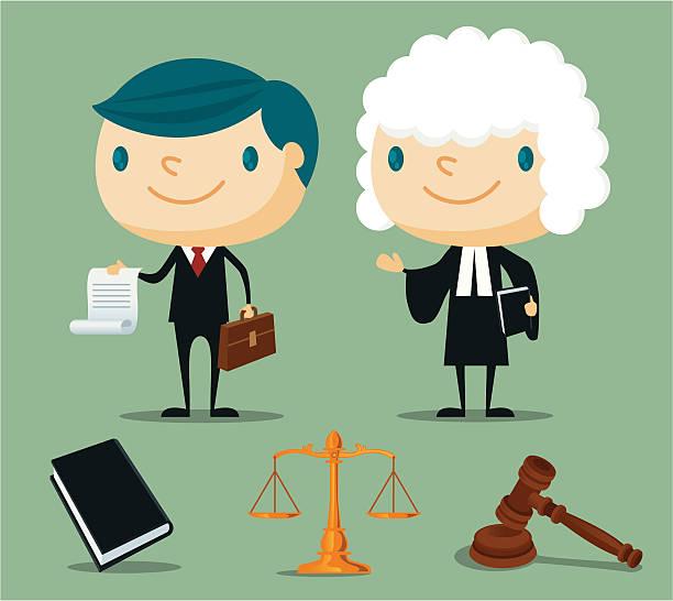 弁護士 - 弁護士点のイラスト素材/クリップアート素材/マンガ素材/アイコン素材