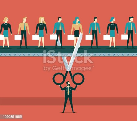 istock Lay Off concept 1290851865