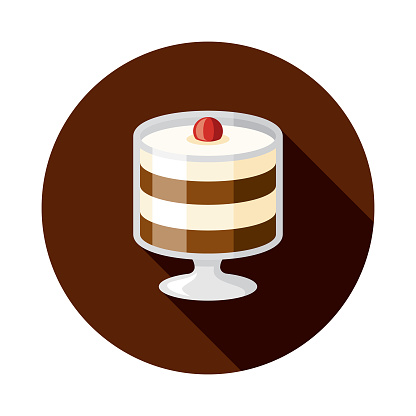 Layered Chocolate Mousse Icon