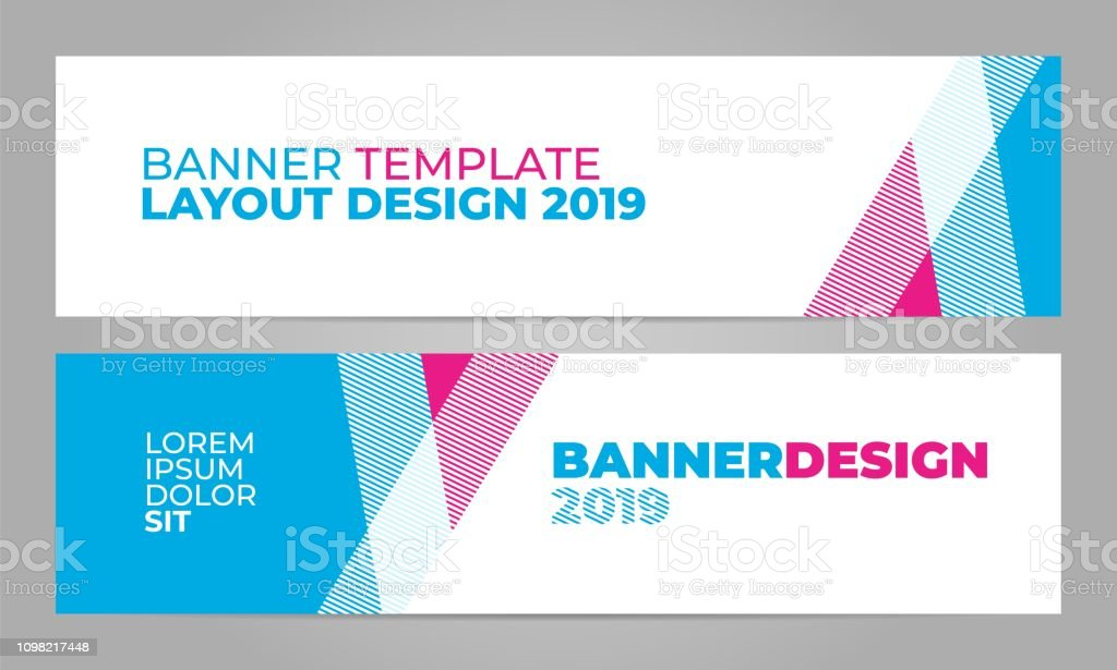 Layout banner template design for winter sport event, tournament or...