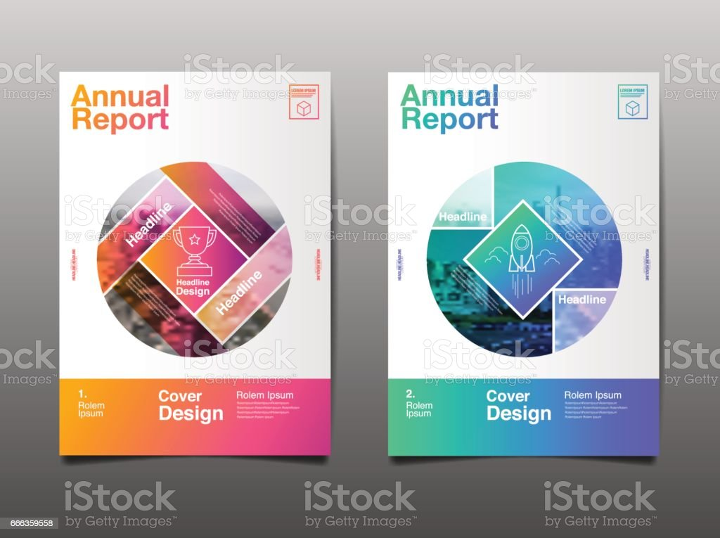 Layout Design Template, Cover Book, Colorful Geograohic Abstract Background vector art illustration