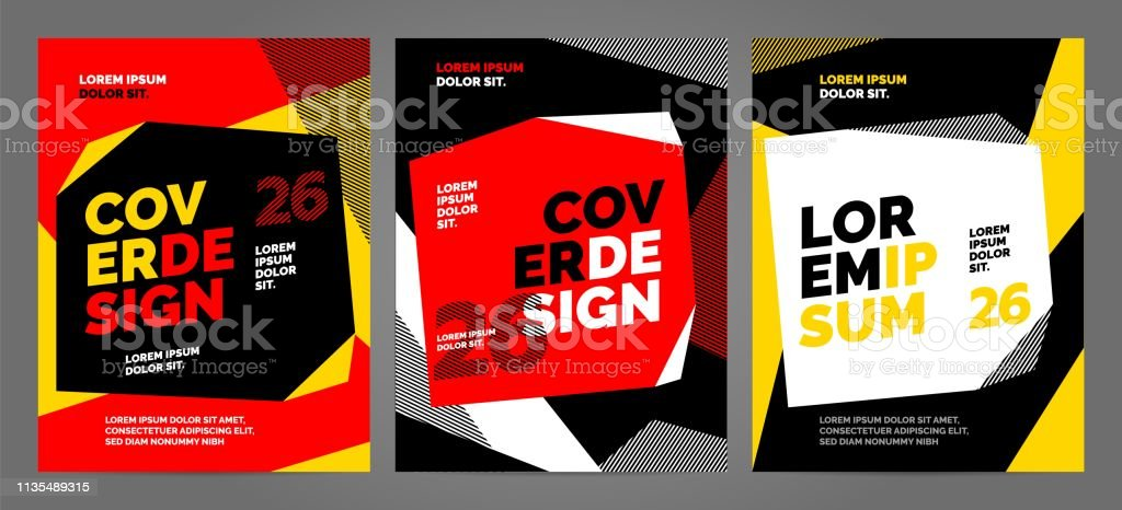 Yellow Layout design template for sport event, tournament or...