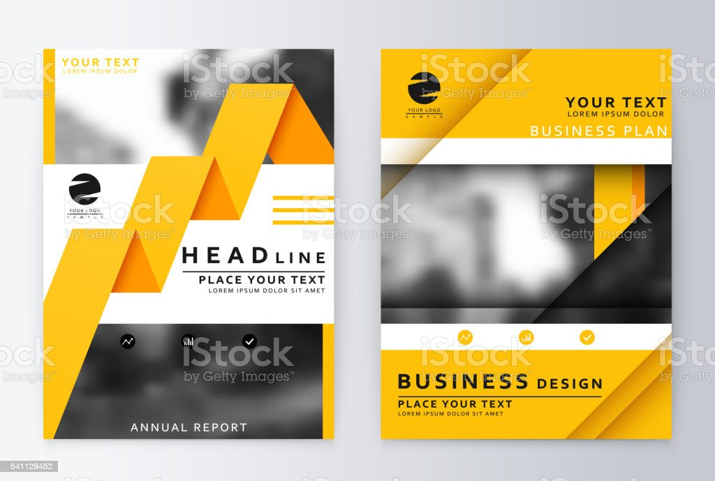 layout design template vector art illustration