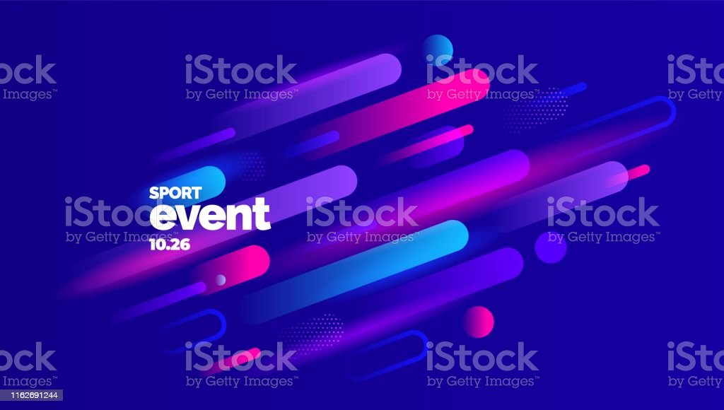 Layout design with dynamic shapes for event, tournament or...