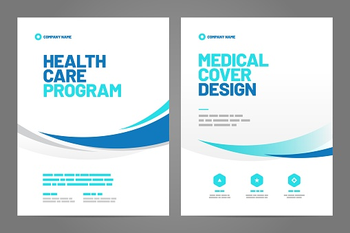Layout template, brochure background. Vector design. A4 size for poster, flyer or cover.