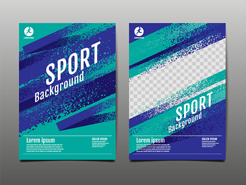 sports backgrounds stock illustrations