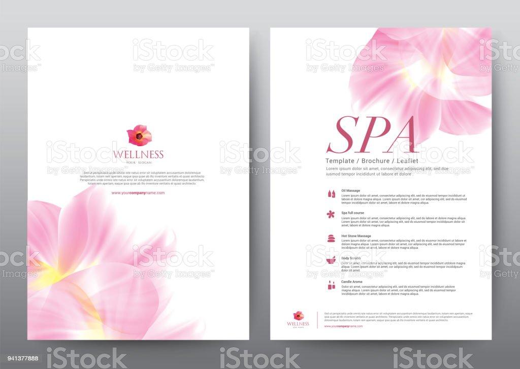 Layoutvorlageelemente Flache Vektor Illustration Präsentationsdesign ...