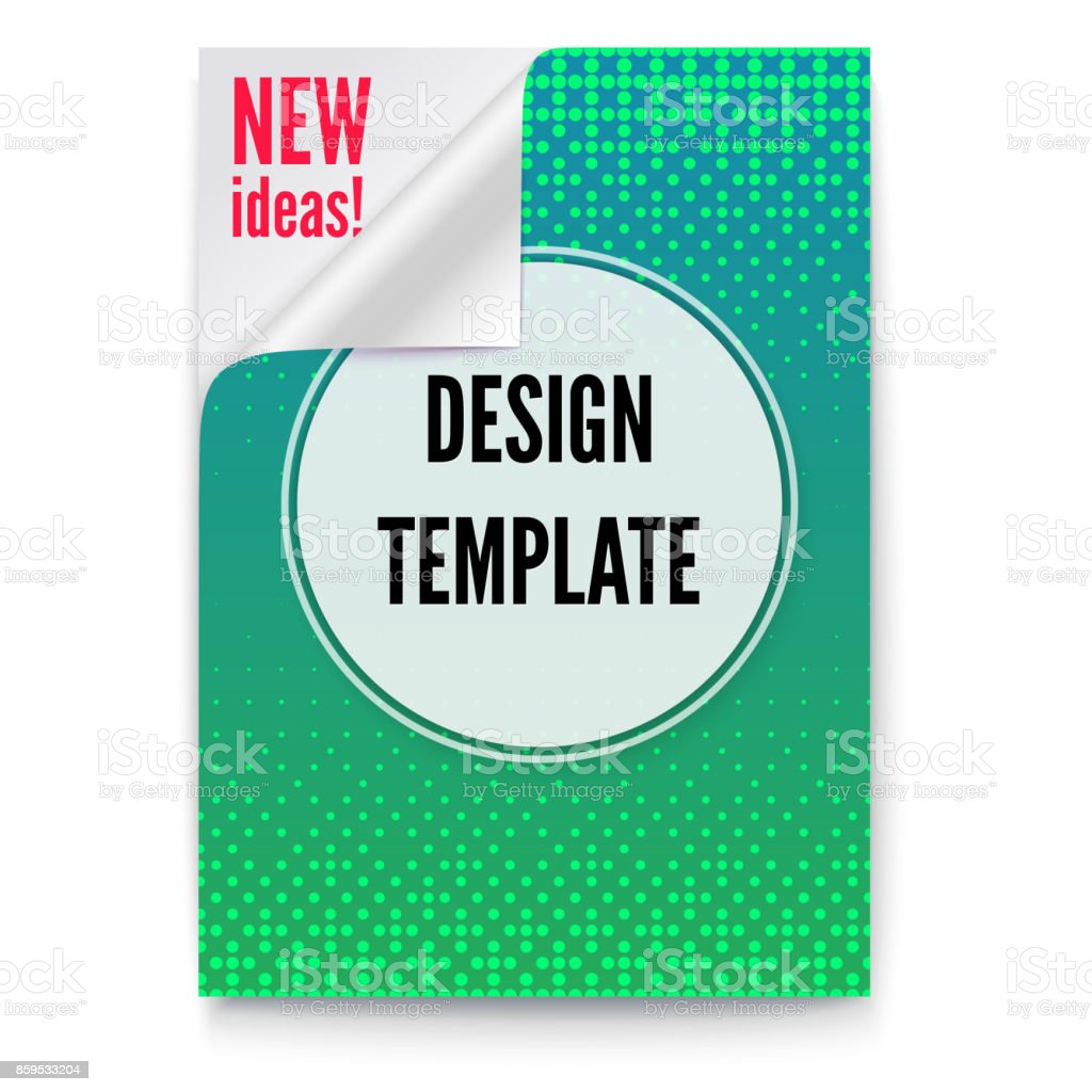 layout template in a4 size business brochure flyer design paper