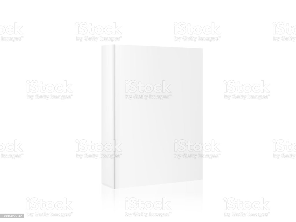 Layout Template Mockup Book For Your Design A Realistic 3d Book ...