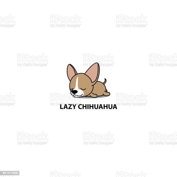 Lazy dog cute chihuahua puppy sleeping icon logo design vector vector id941373592?b=1&k=6&m=941373592&s=612x612&h=lxc0vnu lsf k vehsexzhya9woyzypbuq3lj5vqxmo=
