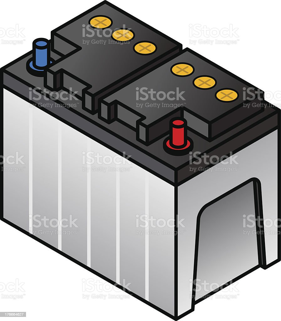 Lead Acid Battery royalty-free lead acid battery stock vector art & more images of accessibility