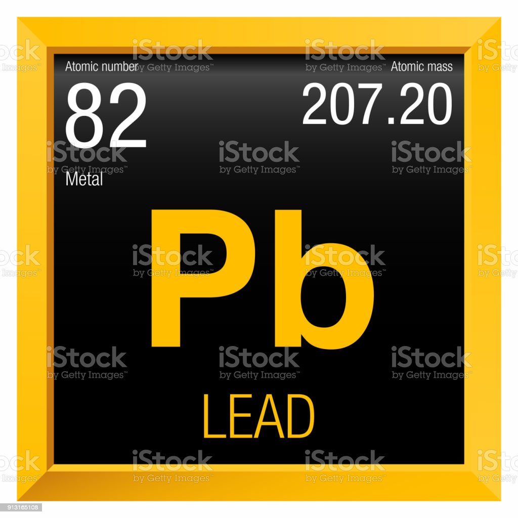 Lead symbol element number 82 of the periodic table of the elements lead symbol element number 82 of the periodic table of the elements chemistry royalty urtaz Image collections