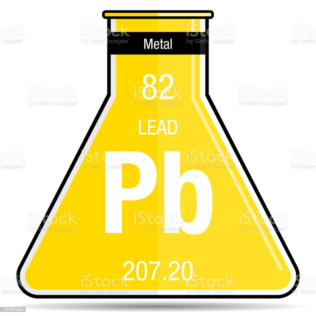 Lead symbol on chemical flask element number 82 of the periodic lead symbol on chemical flask element number 82 of the periodic table of the elements urtaz Image collections