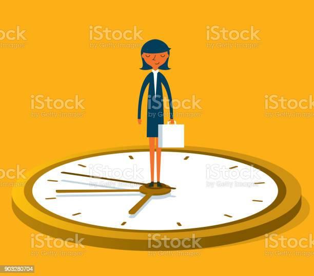 Leader on time businesswoman vector id903280704?b=1&k=6&m=903280704&s=612x612&h=572ey6zdxf7wxadaav5sjrfkqlxtuqdxetik7n6nqus=