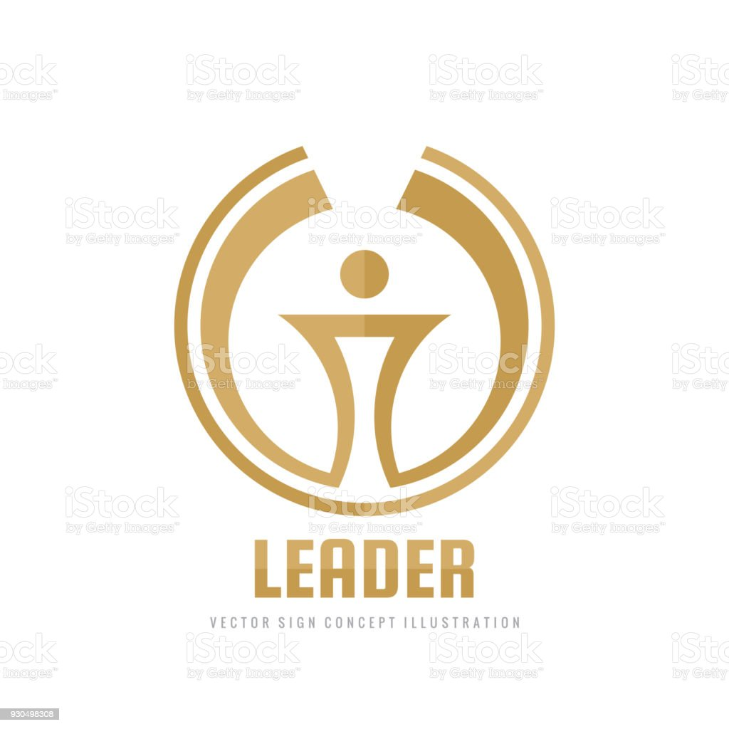 Leader vector business sign template concept illustration abstract leader vector business sign template concept illustration abstract torch creative sign award winner wajeb Choice Image