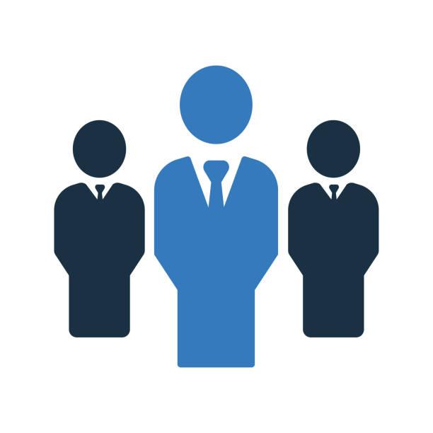 ilustraciones, imágenes clip art, dibujos animados e iconos de stock de icono de líder/jefe - conceptos y temas