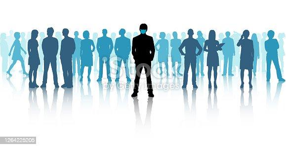 istock Leaders Wear Masks 1264225205